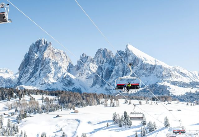 Skiing and winter holidays in the Dolomites