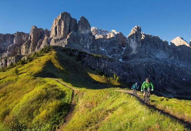 Active summer escape in the Dolomites