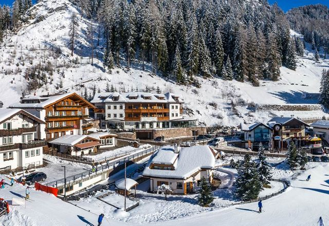 Location of our hotel in Selva in Val Gardena